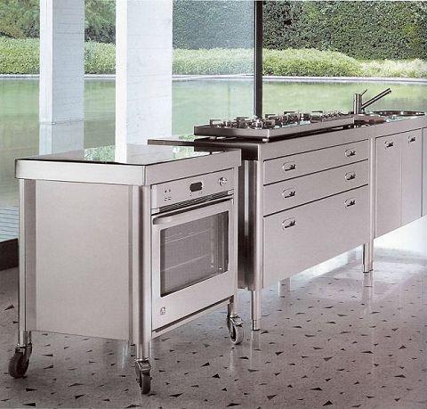 Edelstahl Küchen   Rollcontainer Von Alpes Inox