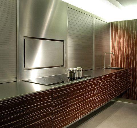 emb edelstahl k chen wandabsaugung. Black Bedroom Furniture Sets. Home Design Ideas